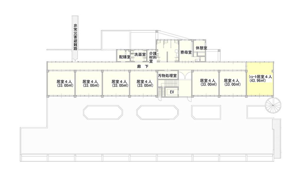桜谷荘西館2階