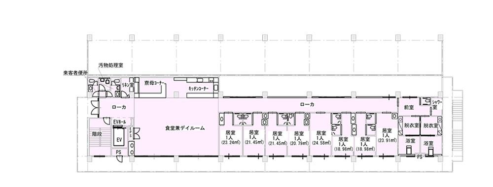 桜谷荘東館2階
