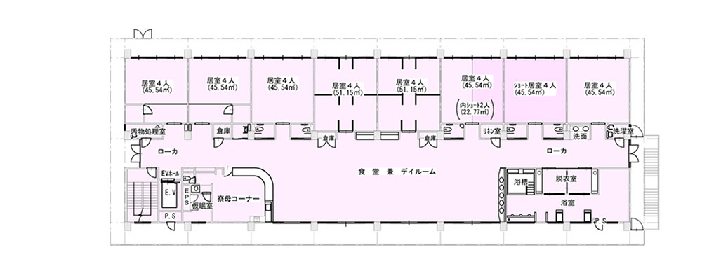 桜谷荘東館3階